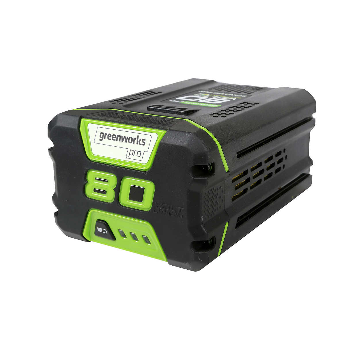 Greenworks Pro 80 V 2 Ah or 5 Ah Replacement Battery