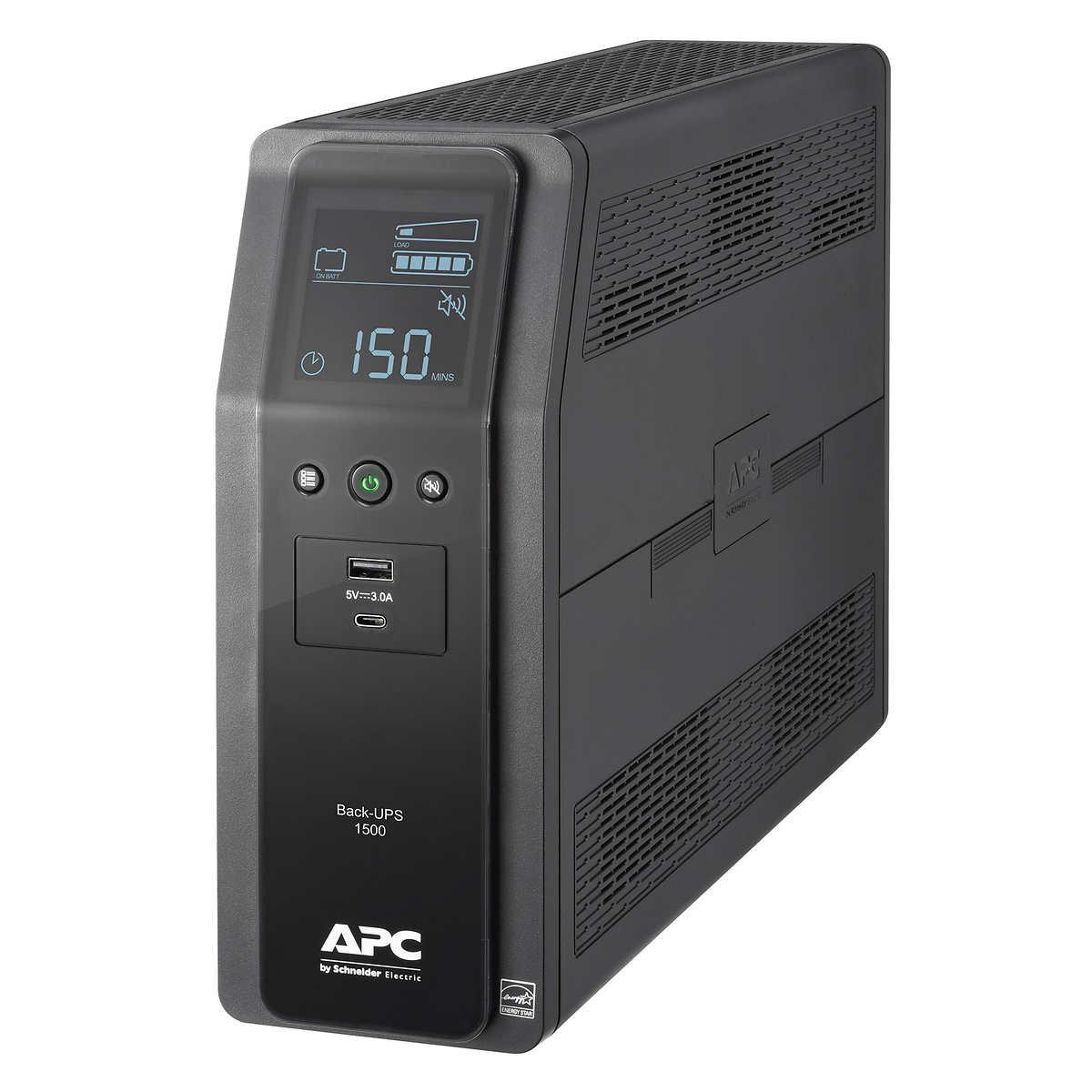 sale retailer aad68 3941c APC Back-UPS Pro 1500 Battery Backup
