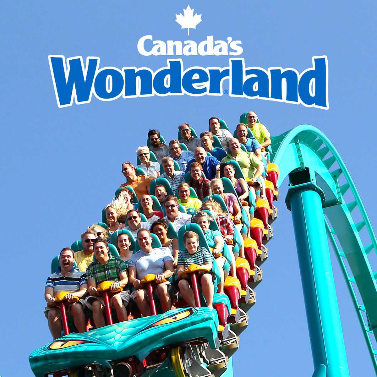 Map Of Canadas Wonderland 2017.Canada S Wonderland