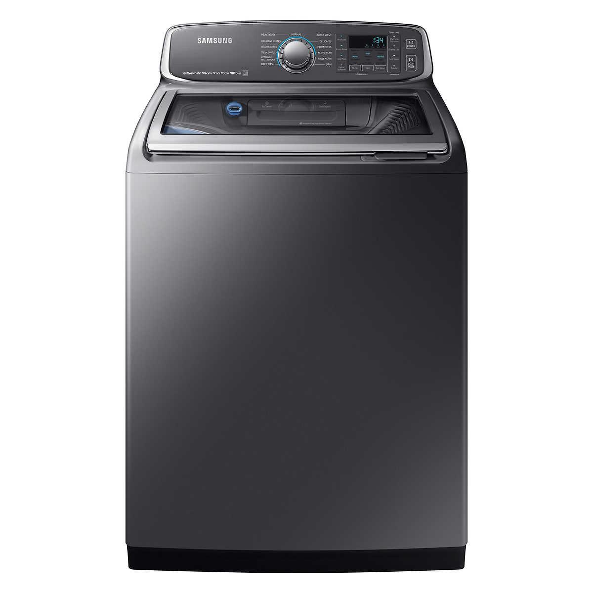 Samsung 6 cu  ft  Platinum Top-load Washer with Activewash