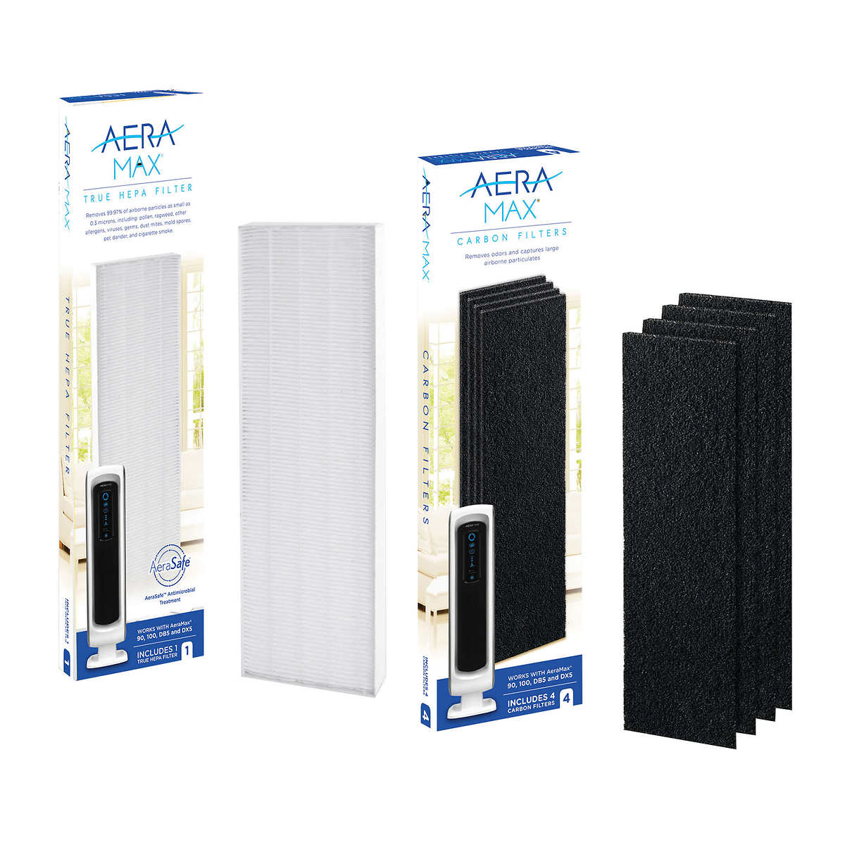 Filter Bundle for Fellowes AeraMax 90/100/DX5