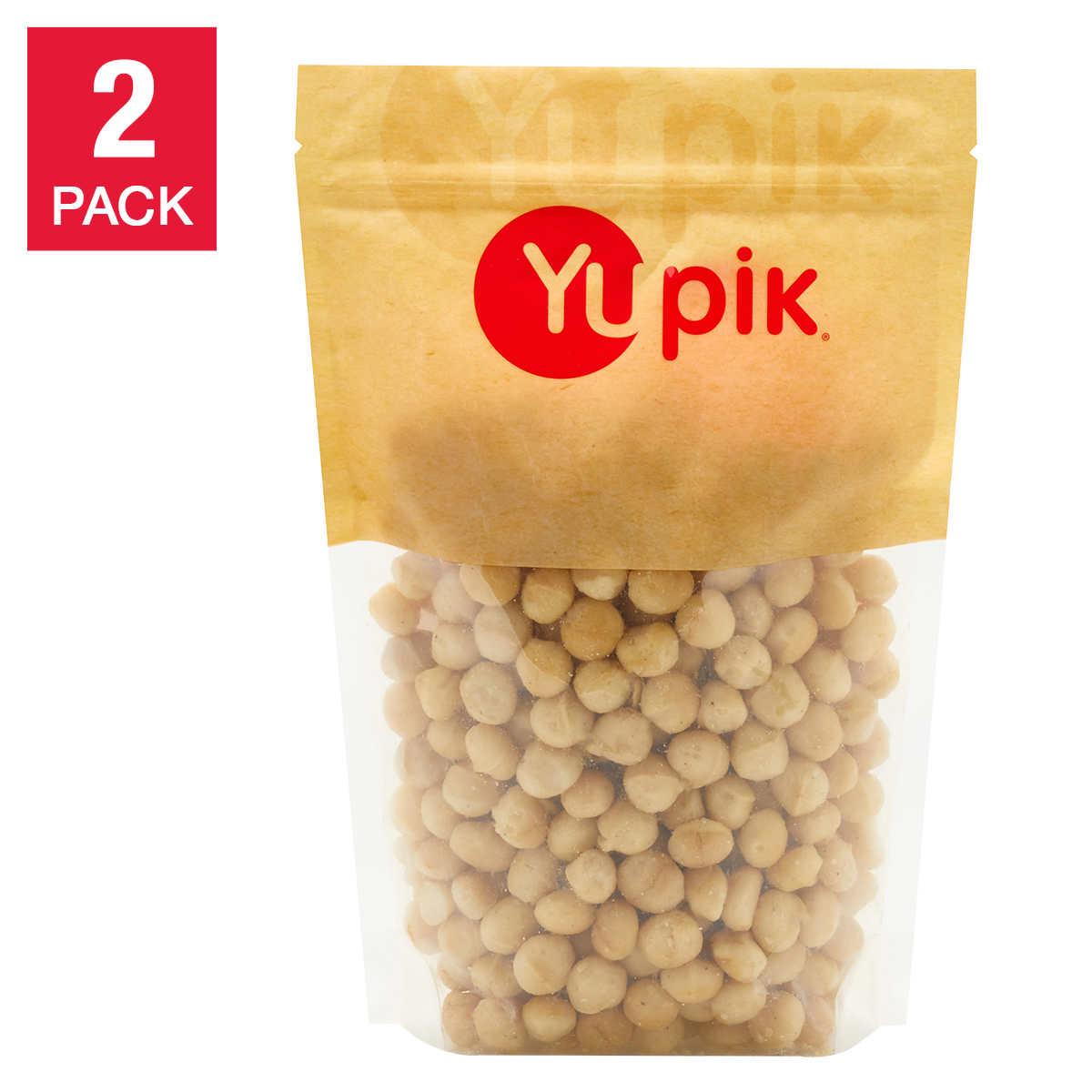 Yupik Macadamia Nuts, 1 kg (2 2 lb), 2-pack