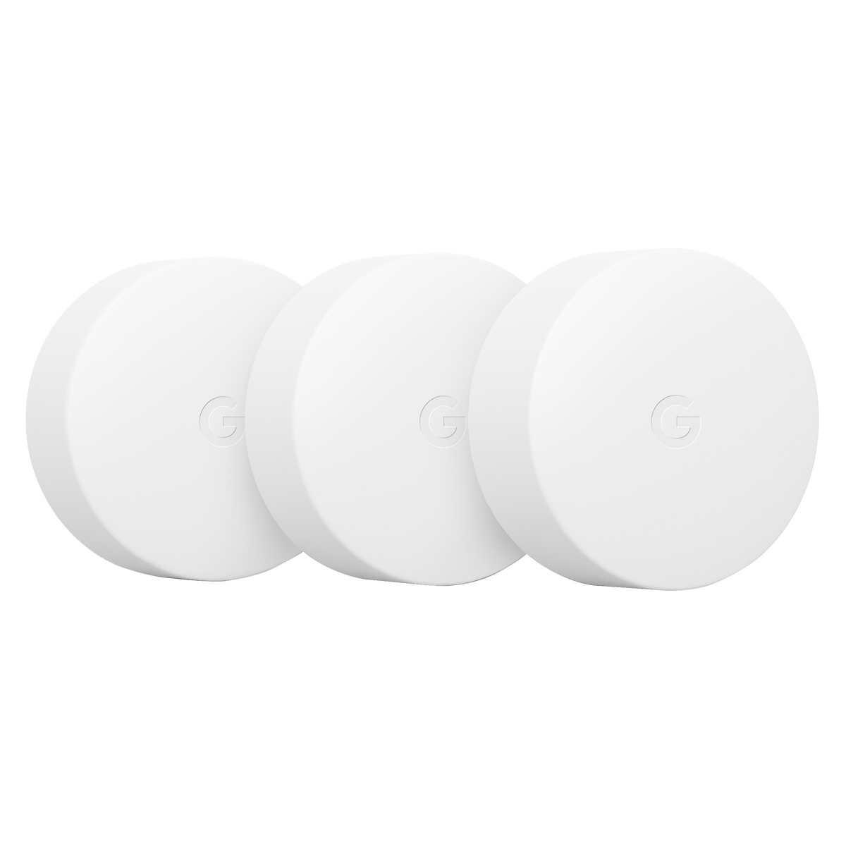 Google Nest Temperature Sensor, 3-pack