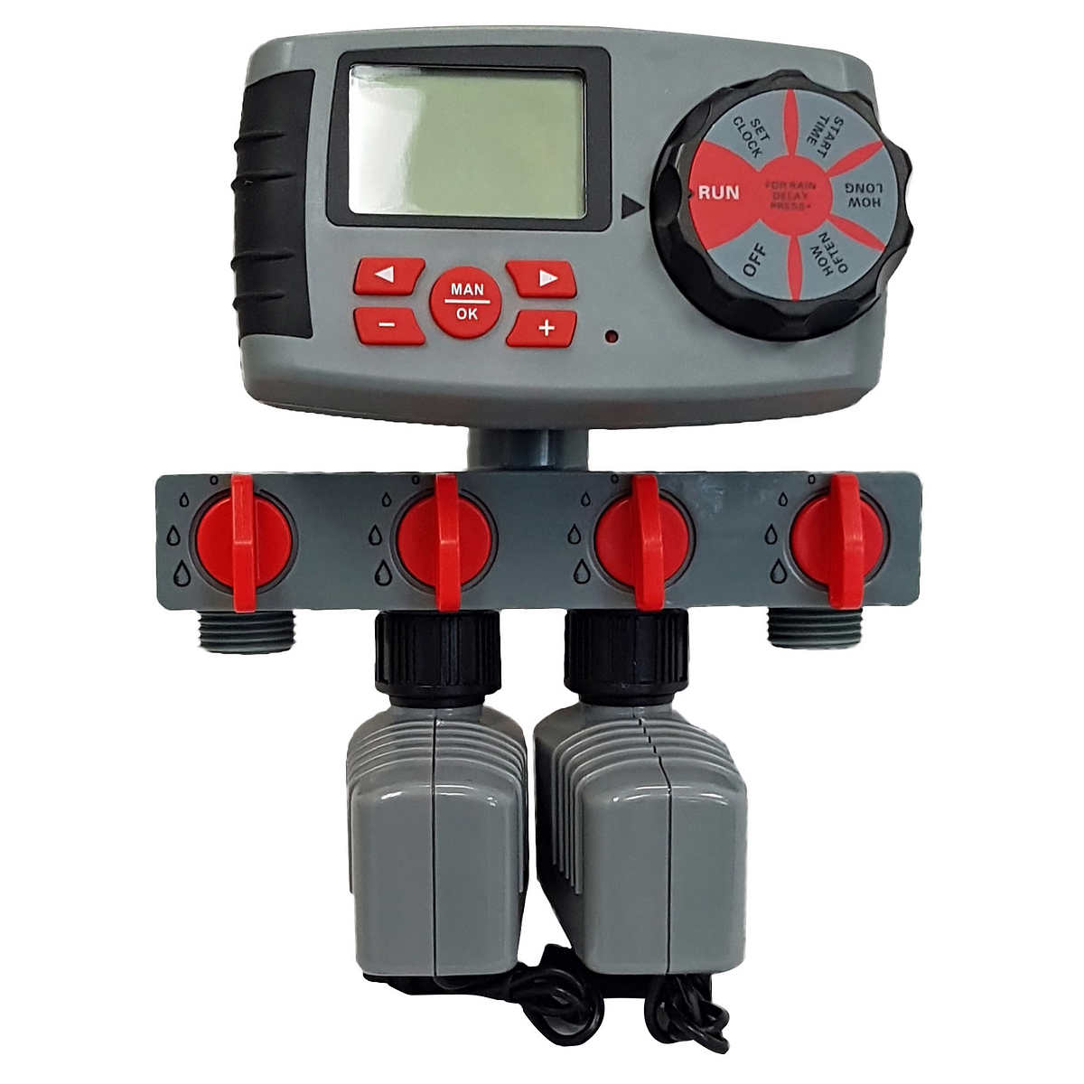 RainWave 4-zone Water Control with 2 Digital Timers