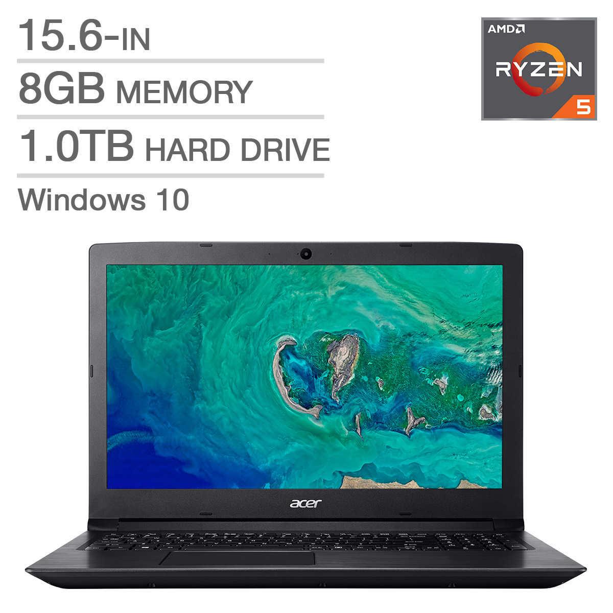 Acer A315-41-R28F Laptop, AMD Ryzen 5 2500U