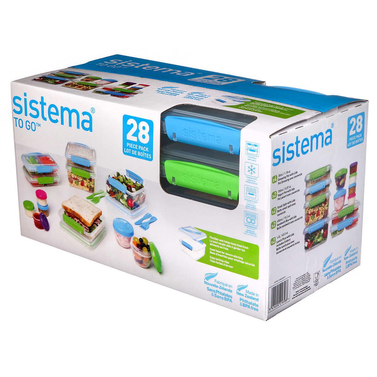 Sistema To Go 28-piece Food Storage Set
