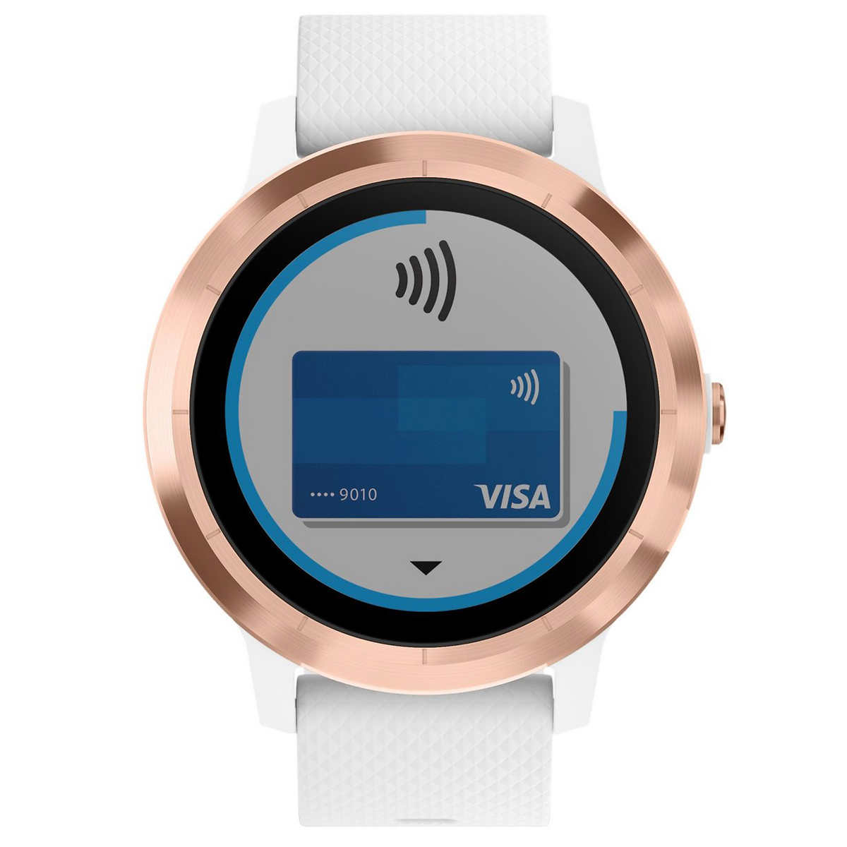 Garmin vivoactive 3 White with Rose Gold Hardware GPS Smartwatch