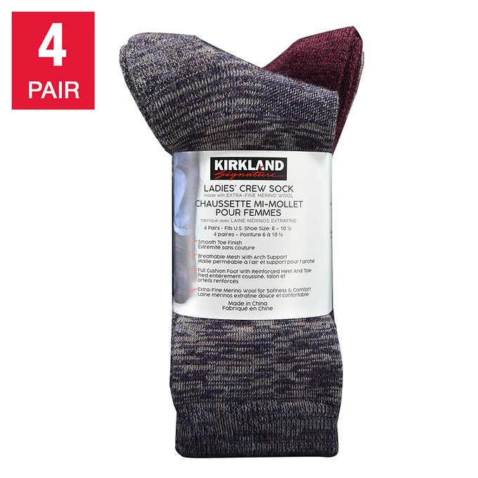 4ef330531 Kirkland Signature Ladies Trail Sock