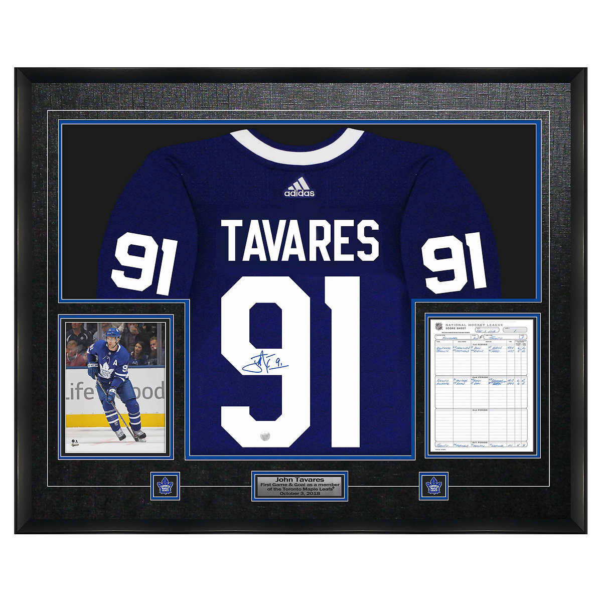 various colors bbb27 16783 John Tavares Autographed Jersey and Scoresheet