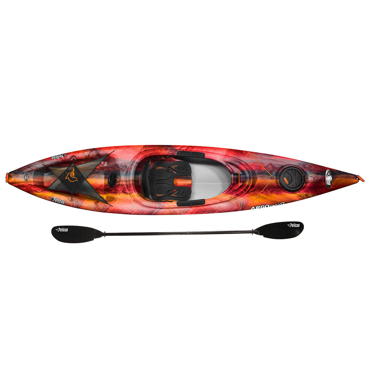 Pelican Argo 120XP Kayak with Paddle