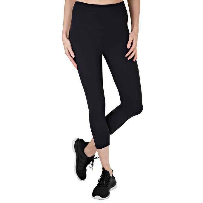 0d7422fbc419c ... Tuff Athletics Ladies Yoga Crop Tight. black 1 black 1