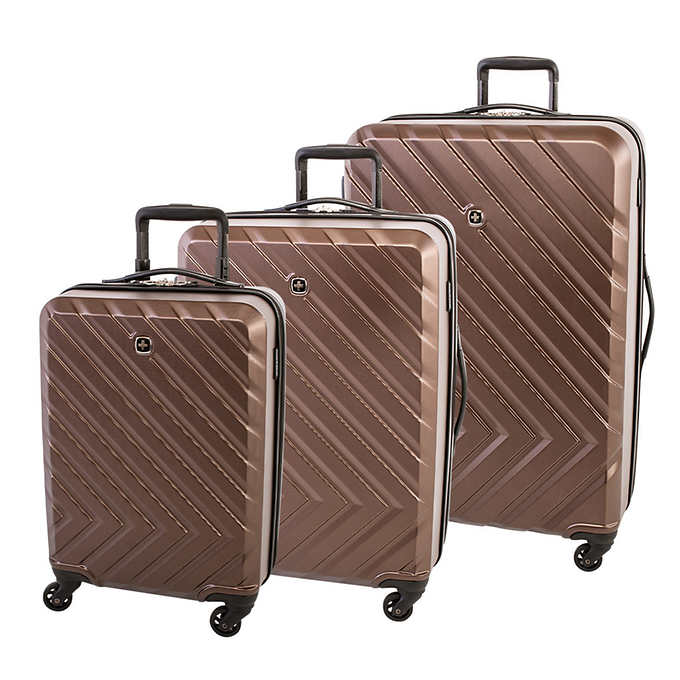 23ad93a7f ... Gear Turbo Collection 3-piece Hardside Luggage Set. brown 1 brown 1