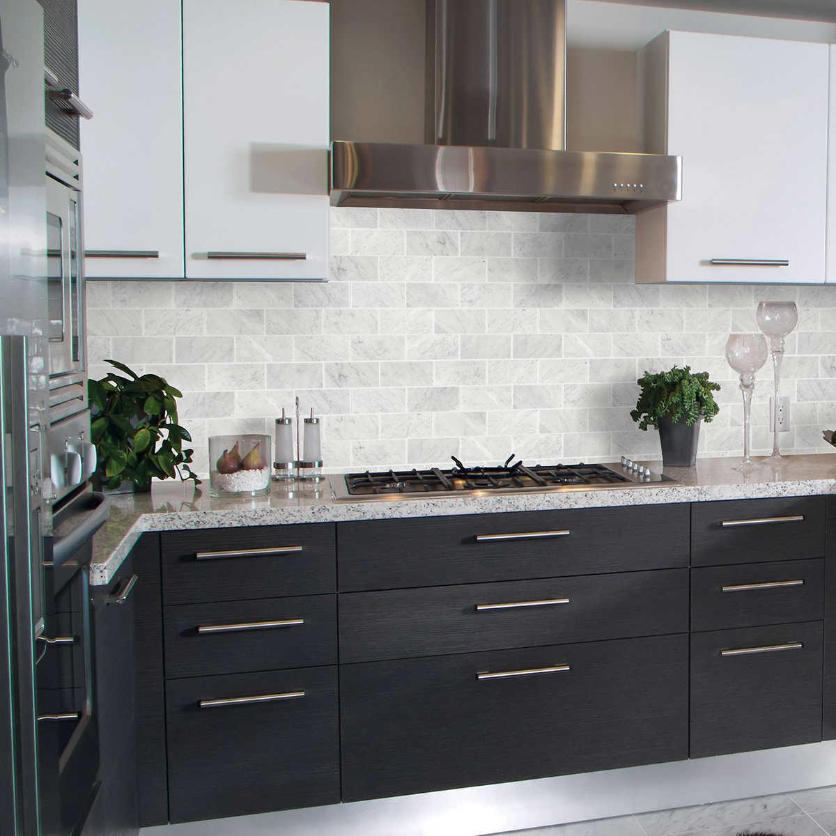 0bf422224924 Golden Select Carrara Marble Mosaic Tiles