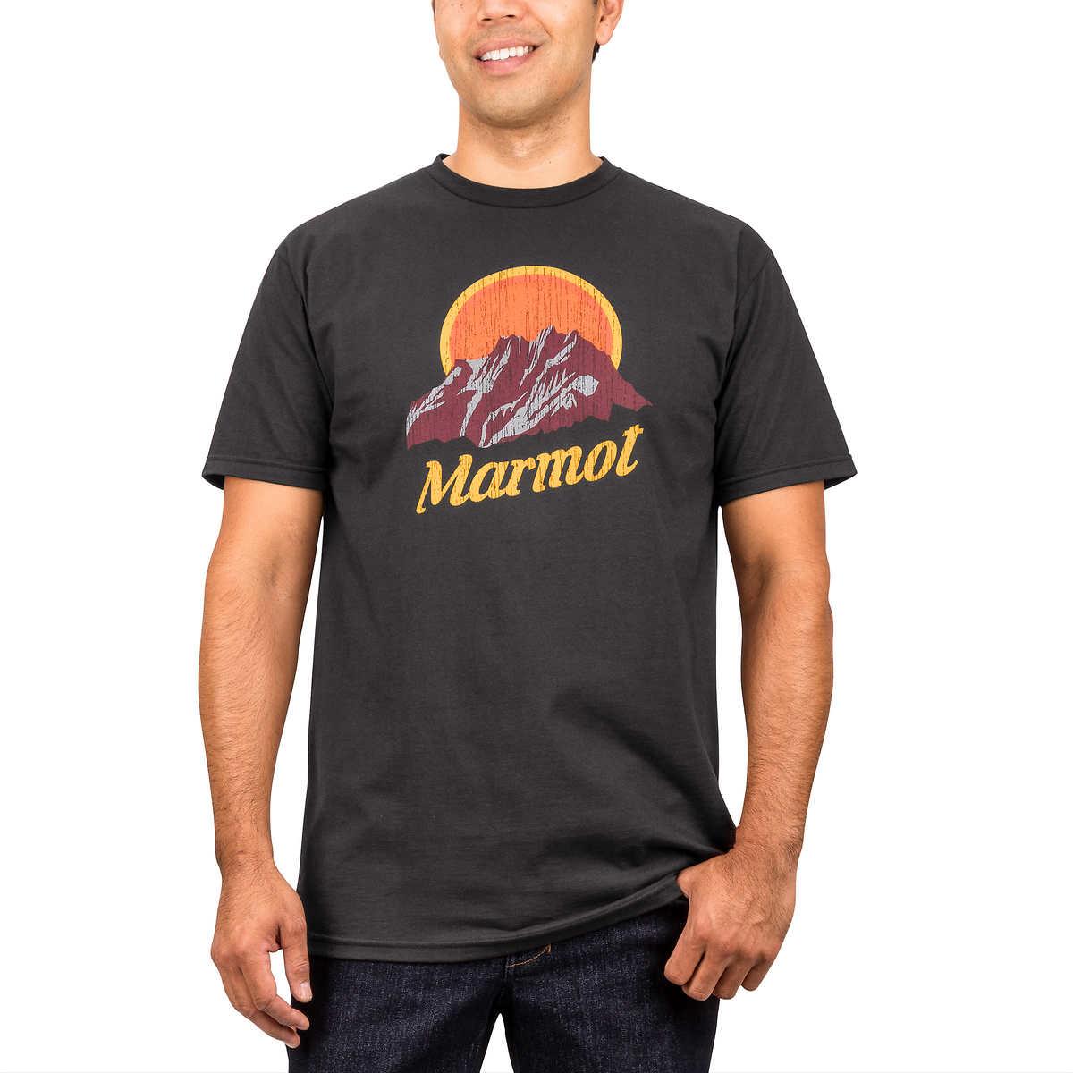 1c11159f2 Marmot Men's Cotton Logo Tee