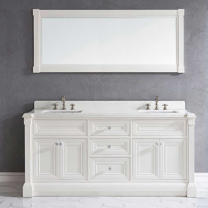 48a078b27 Studio Bathe Avenue 72 in Vanity with mirror