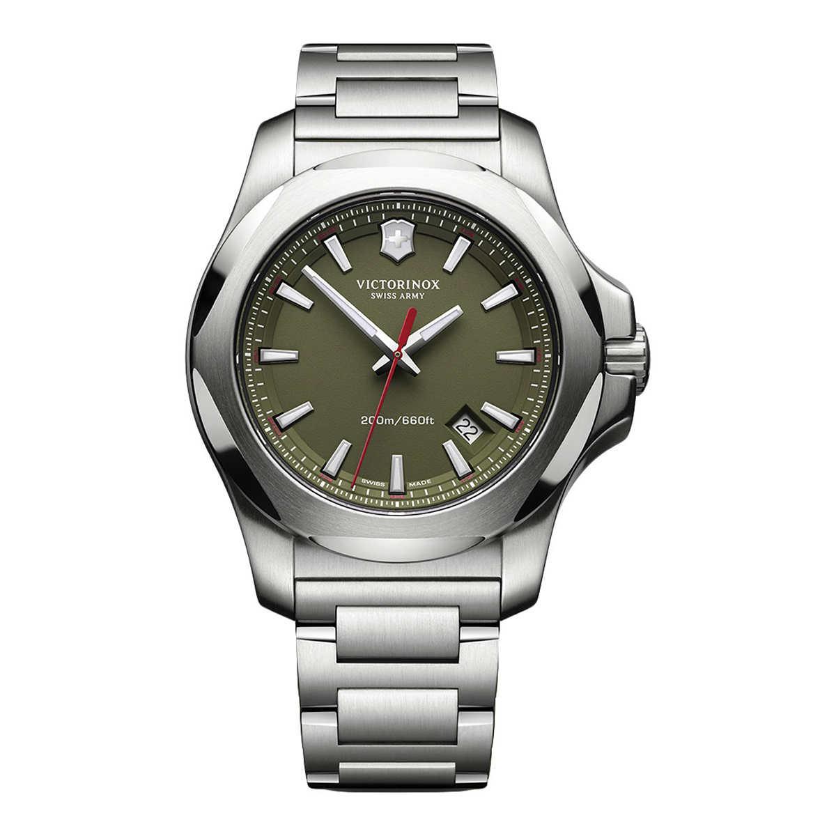 cab8cf6d44cbe ... Victorinox Swiss Army INOX Green Dial Men's Watch. 1 1. Click to Zoom
