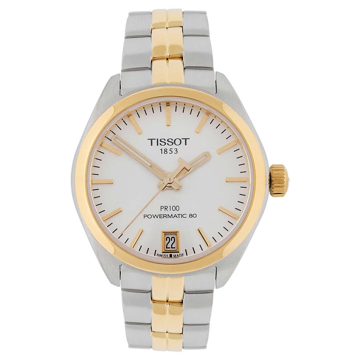 Tissot Pr 100 Powermatic 80 Ladies Watch