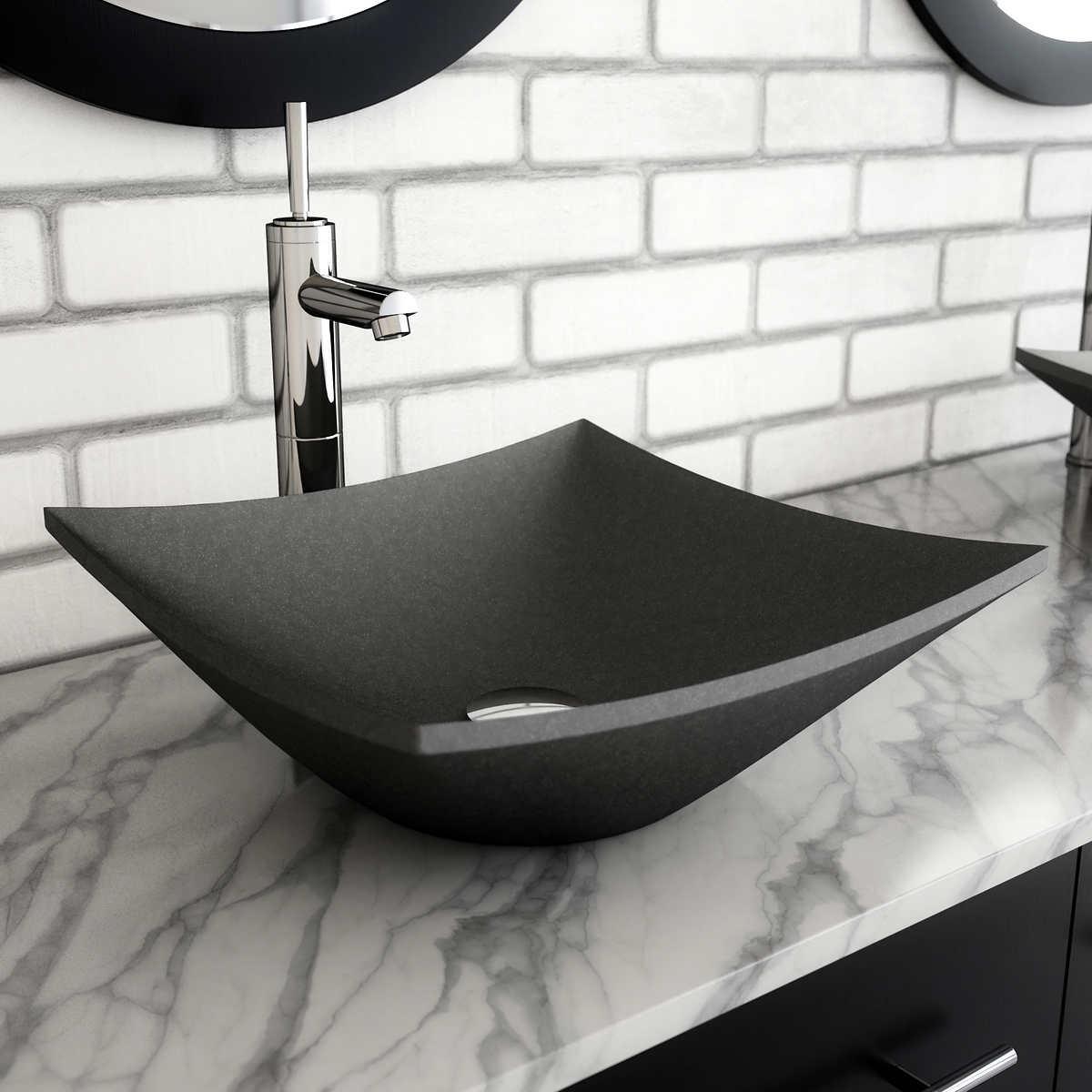 Bathroom Sink.Studio Bathe Mobius Vessel Bathroom Sink