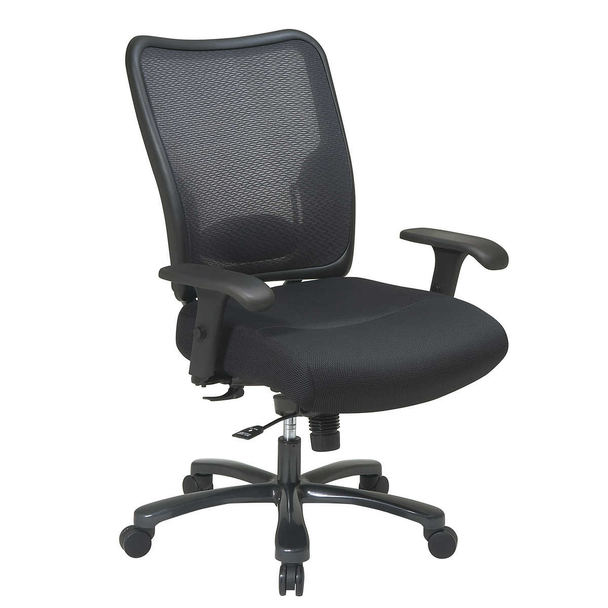 Best office chair for neck pain - Big And Tall Double Air Grid Back Ergonomic Office Chair
