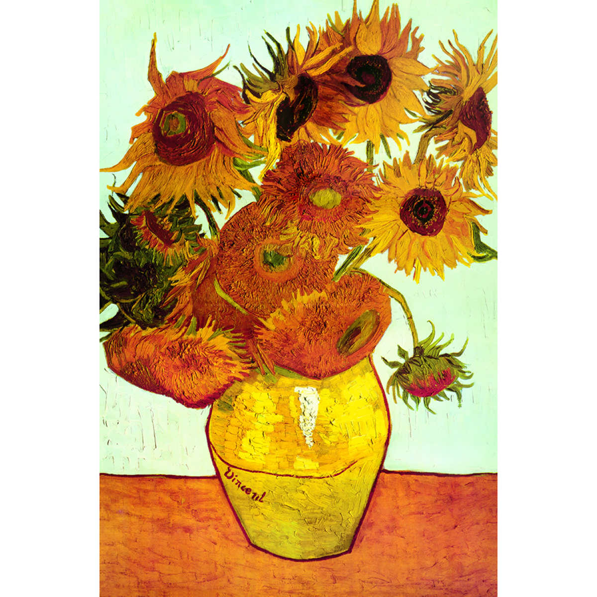 Vase with 12 sunflowers by vincent van gogh vase with 12 sunflowers by vincent van gogh item 294747 1 1 reviewsmspy
