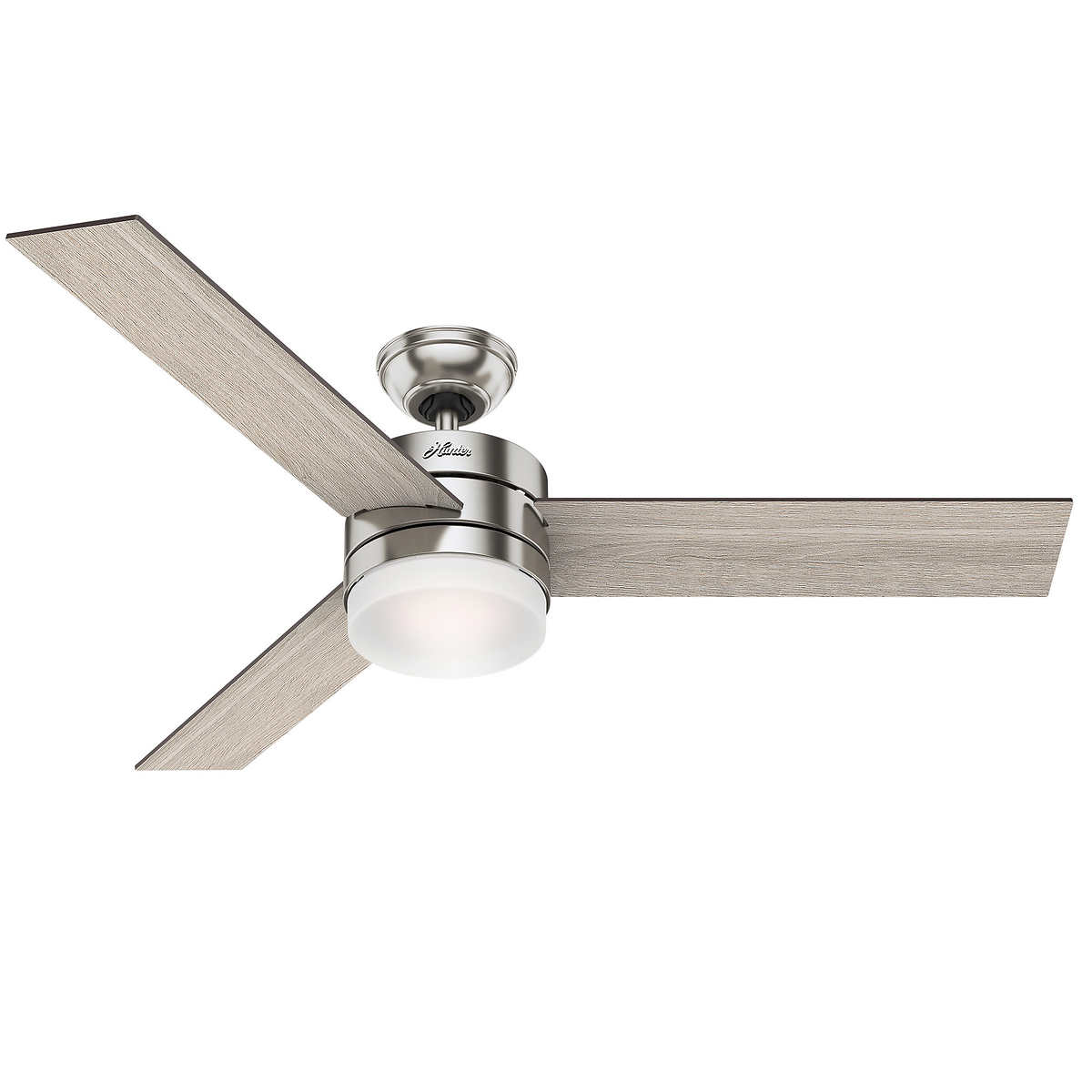 "54"" Hunter Contempo Fan with Remote LED Bulbs & Reversible Blades"