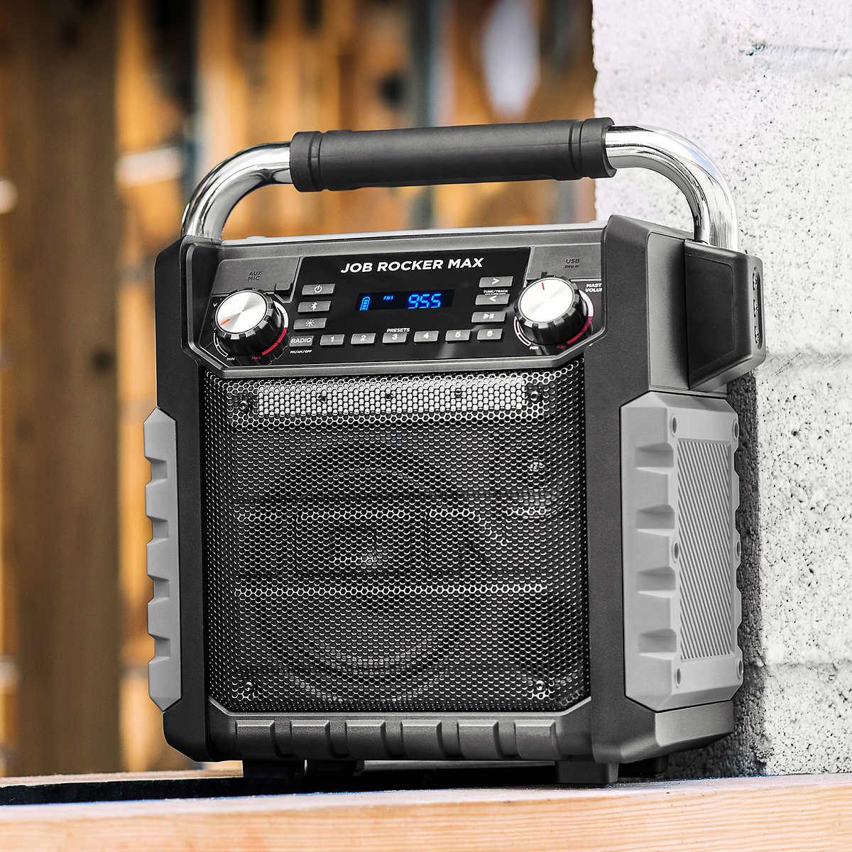 ION IPA81BK Job Rocker Max Bluetooth Speaker Portable