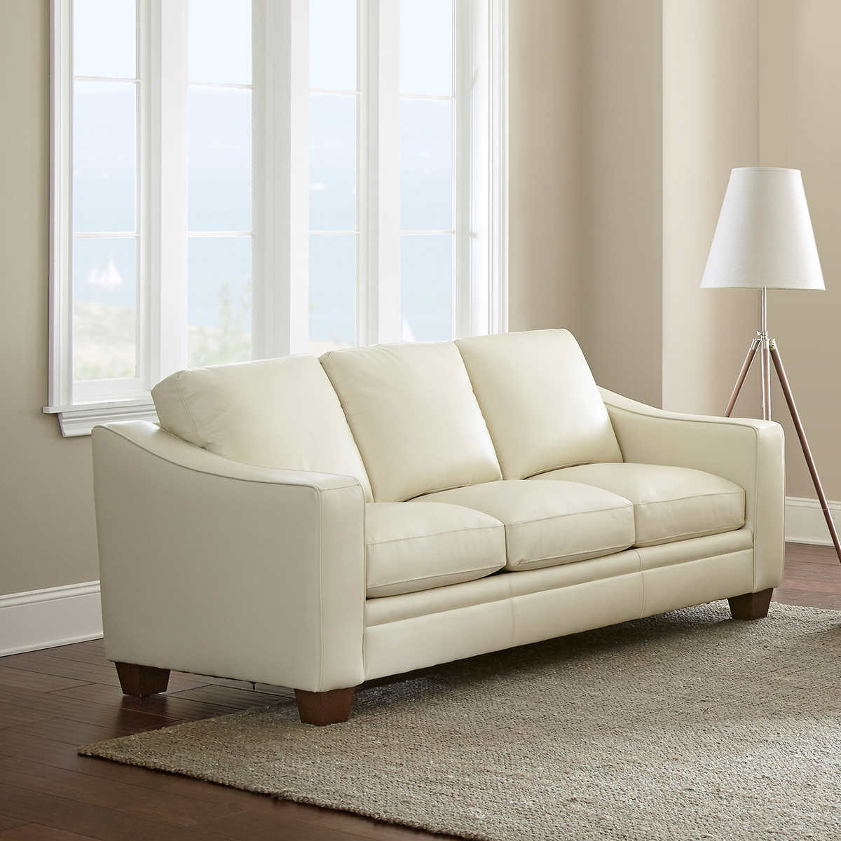 Mansell Top Grain Leather Sofa