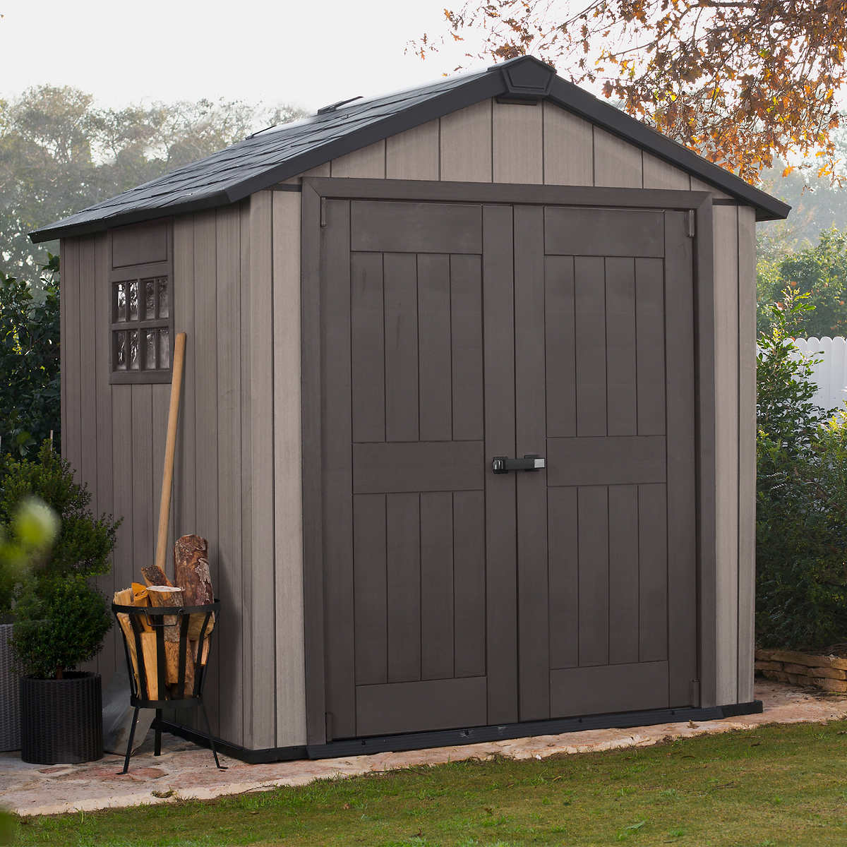 aston 10 u0027 x 7 5 u0027 wood shed