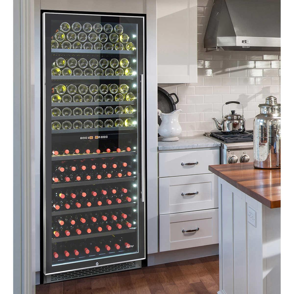 Wine Refrigerator Reviews Wine Spectator wine cellars & coolers | costco
