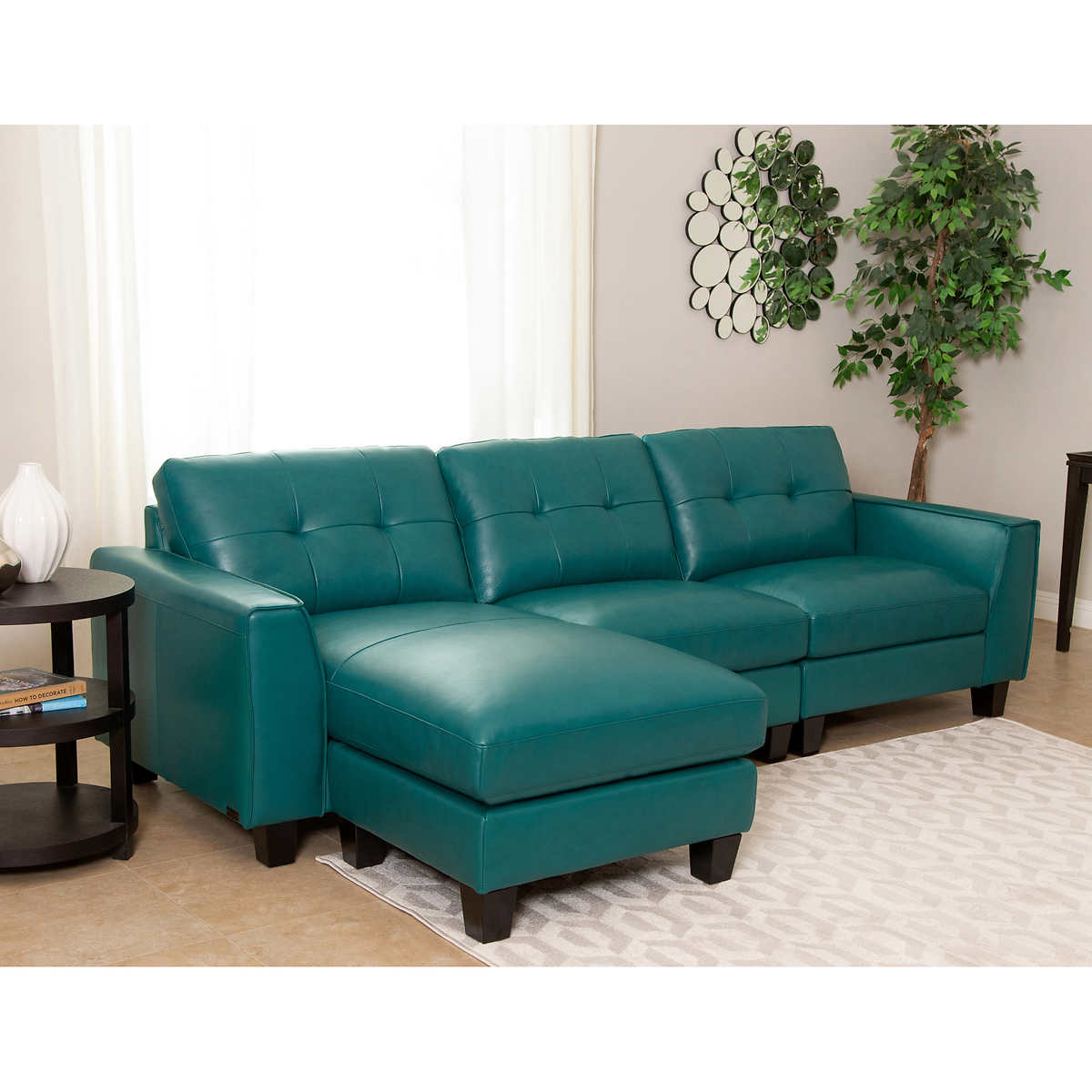 Teal Furniture leather sofas & sectionals | costco