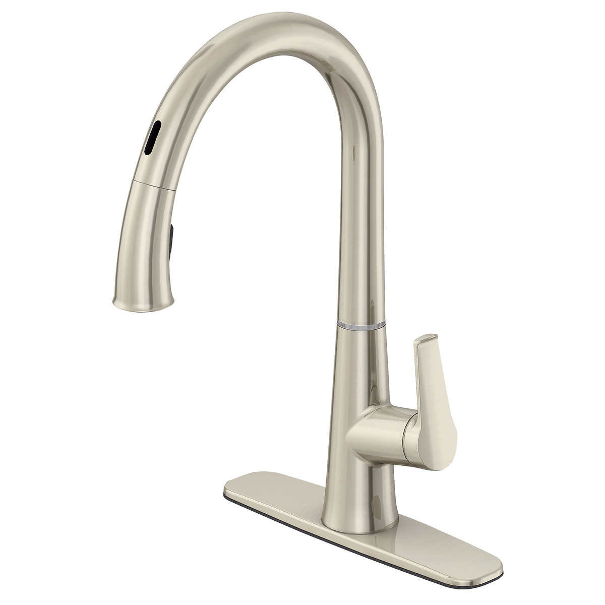 Hansgrohe Cento Kitchen Faucet in Steel Optik Chrome Finish