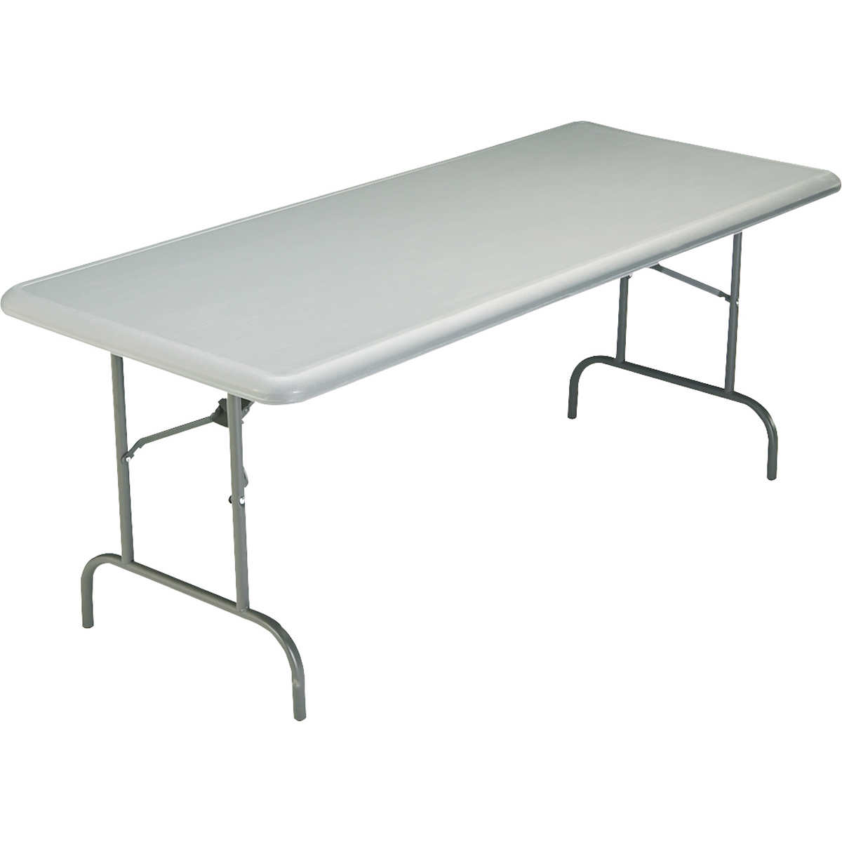 "Iceberg IndestrucTable TOO 30"" x 96"" Charcoal Folding Table"