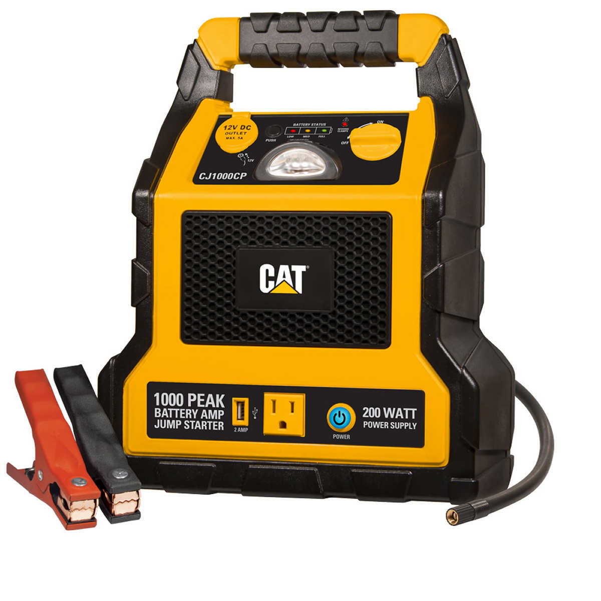 Cat 1000 Peak Amp Battery Jump Starter Power Station
