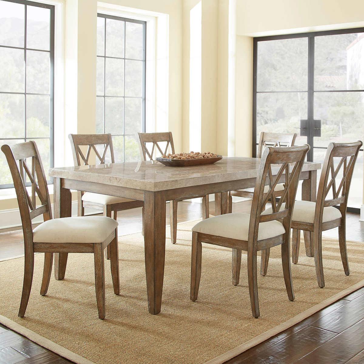 mcclintock costco mcclintock 7 piece dining set