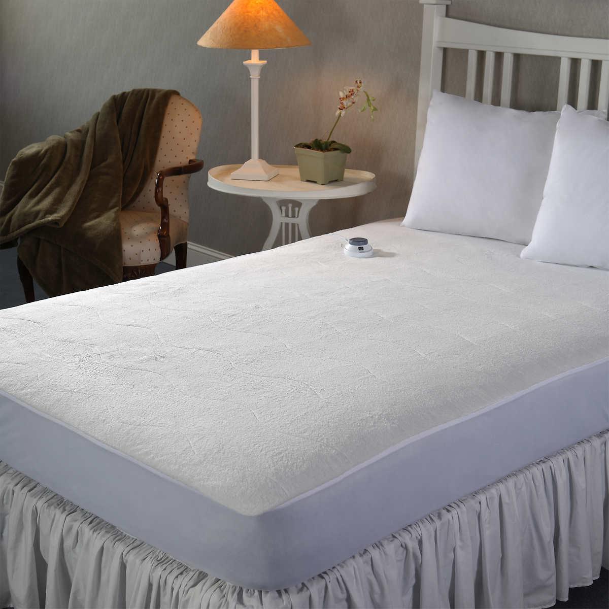 Sunbeam heated mattress pad