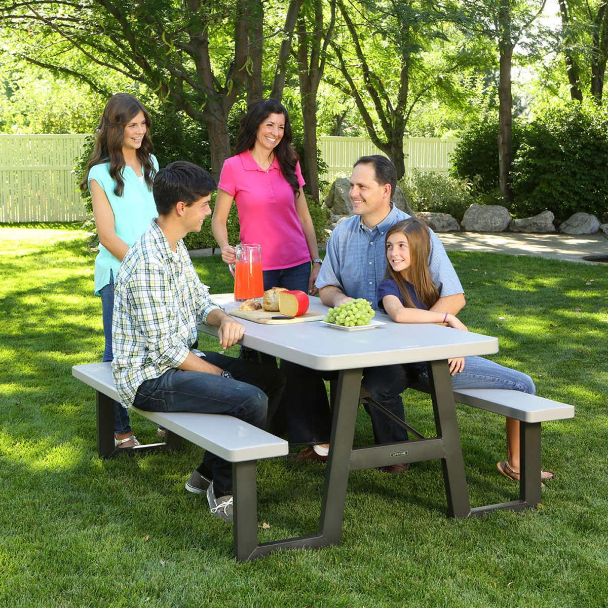 Lifetime 6 ft Folding Picnic Table