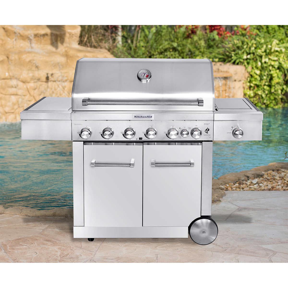 Kitchenaid Bbq Cover kitchenaid 8-burner grill