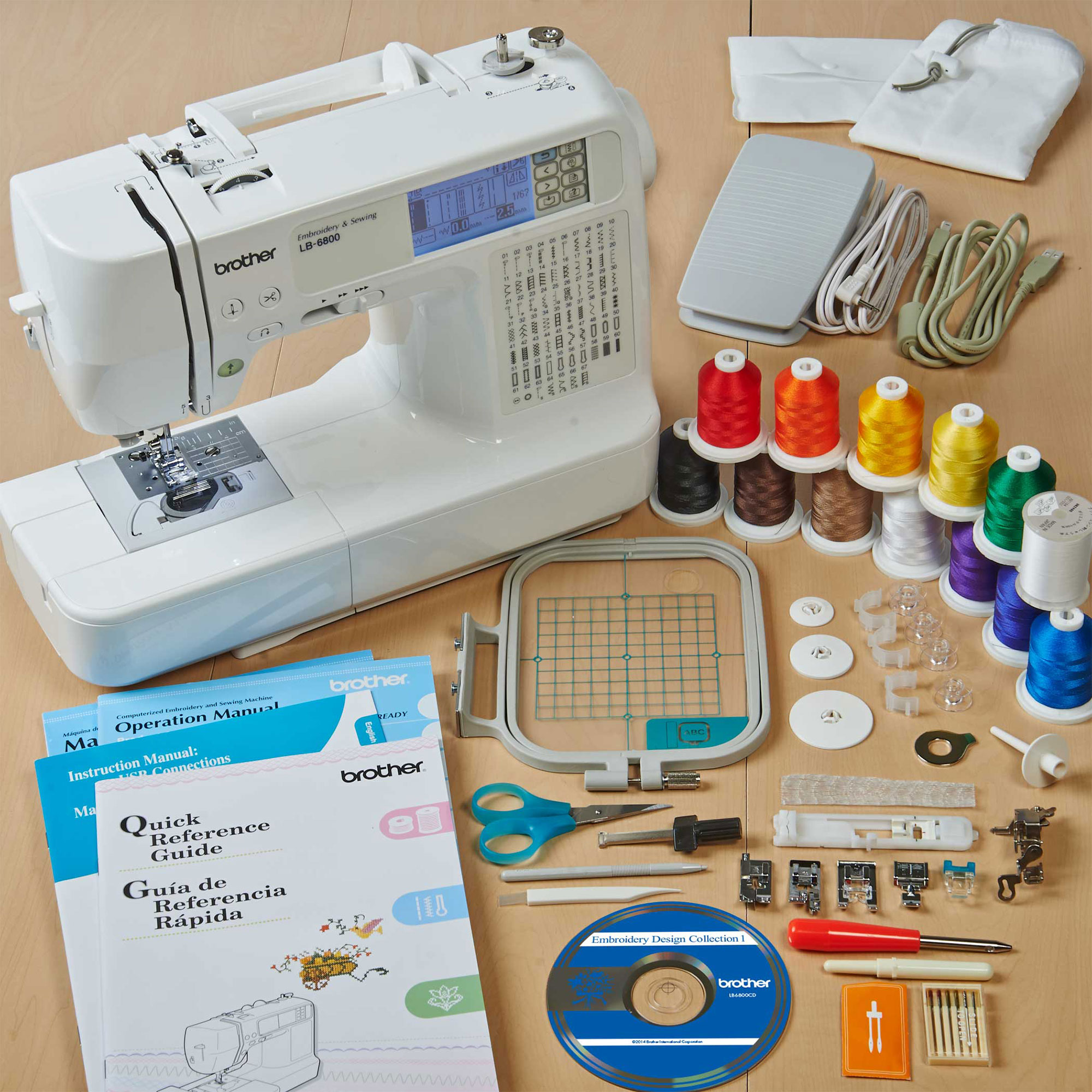 brothers sewing and embroidery machine