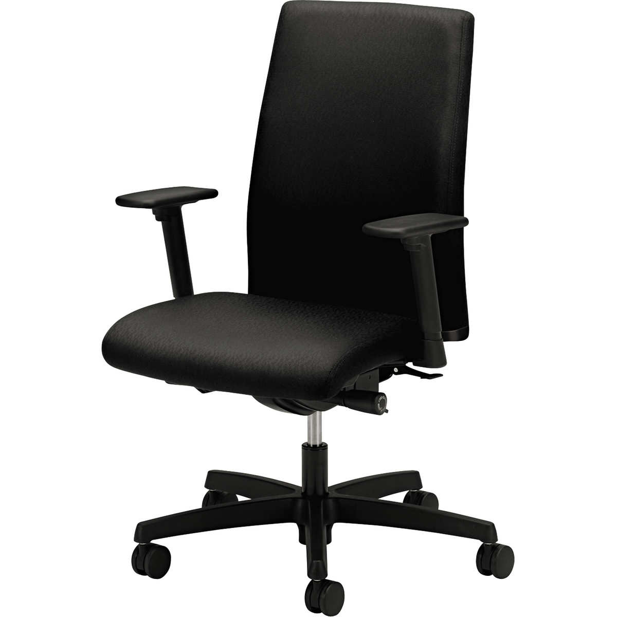hon ignition series black mid-back work chair