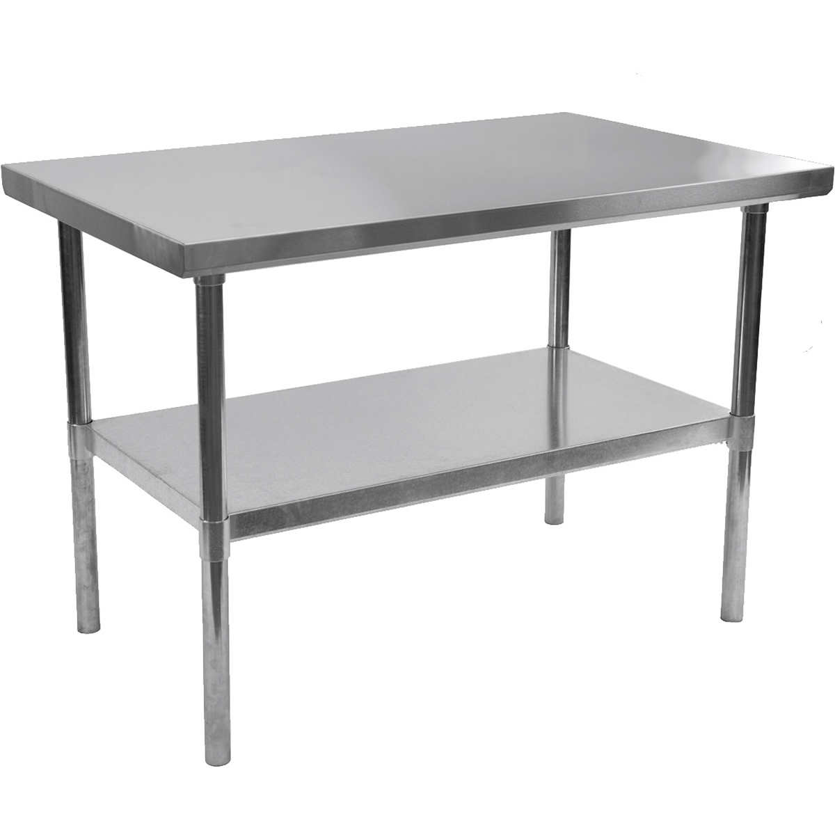 alera stainless steel table 30 x 48