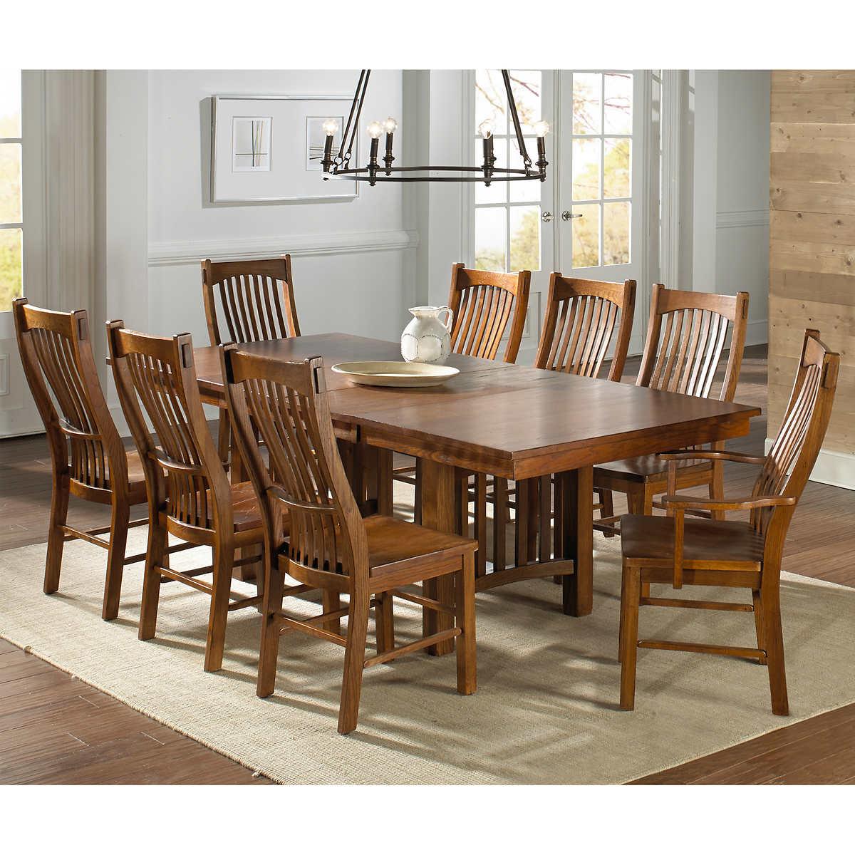 santeelah 9 piece dining set santeelah 9 piece dining set item 623511 click to zoom
