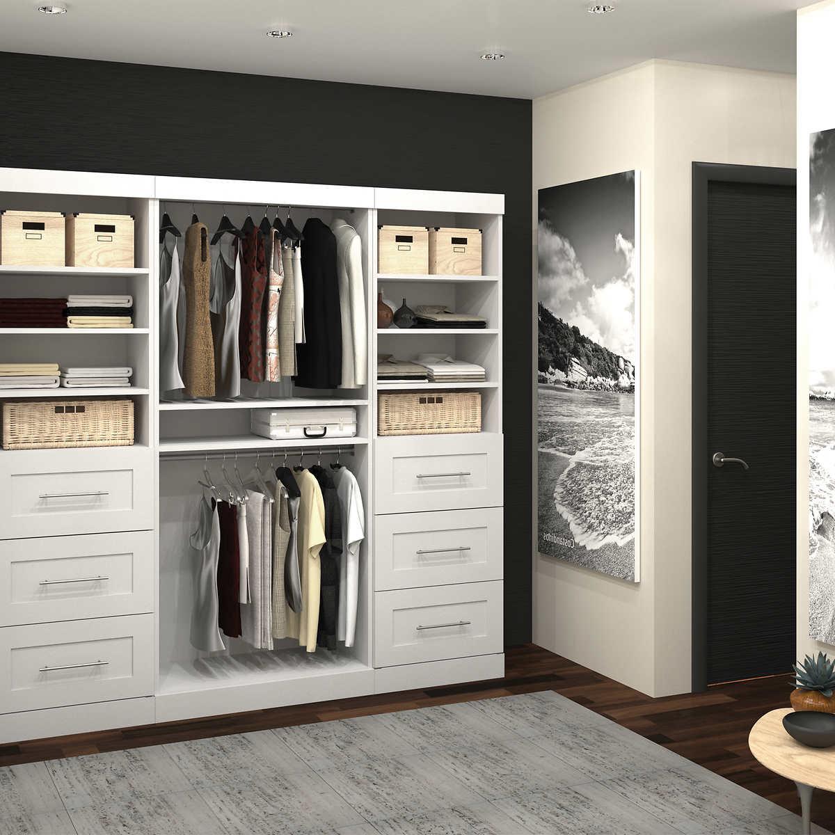 Closet Organizer Service storage cabinets & shelving units   costco