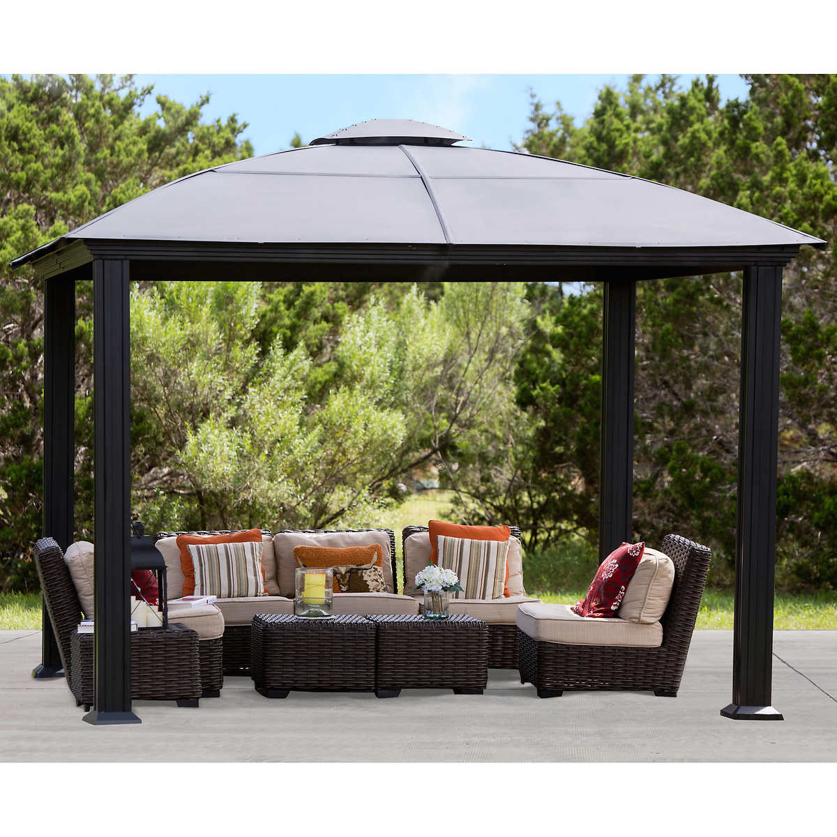 Garden Furniture Gazebo outdoor structures | costco