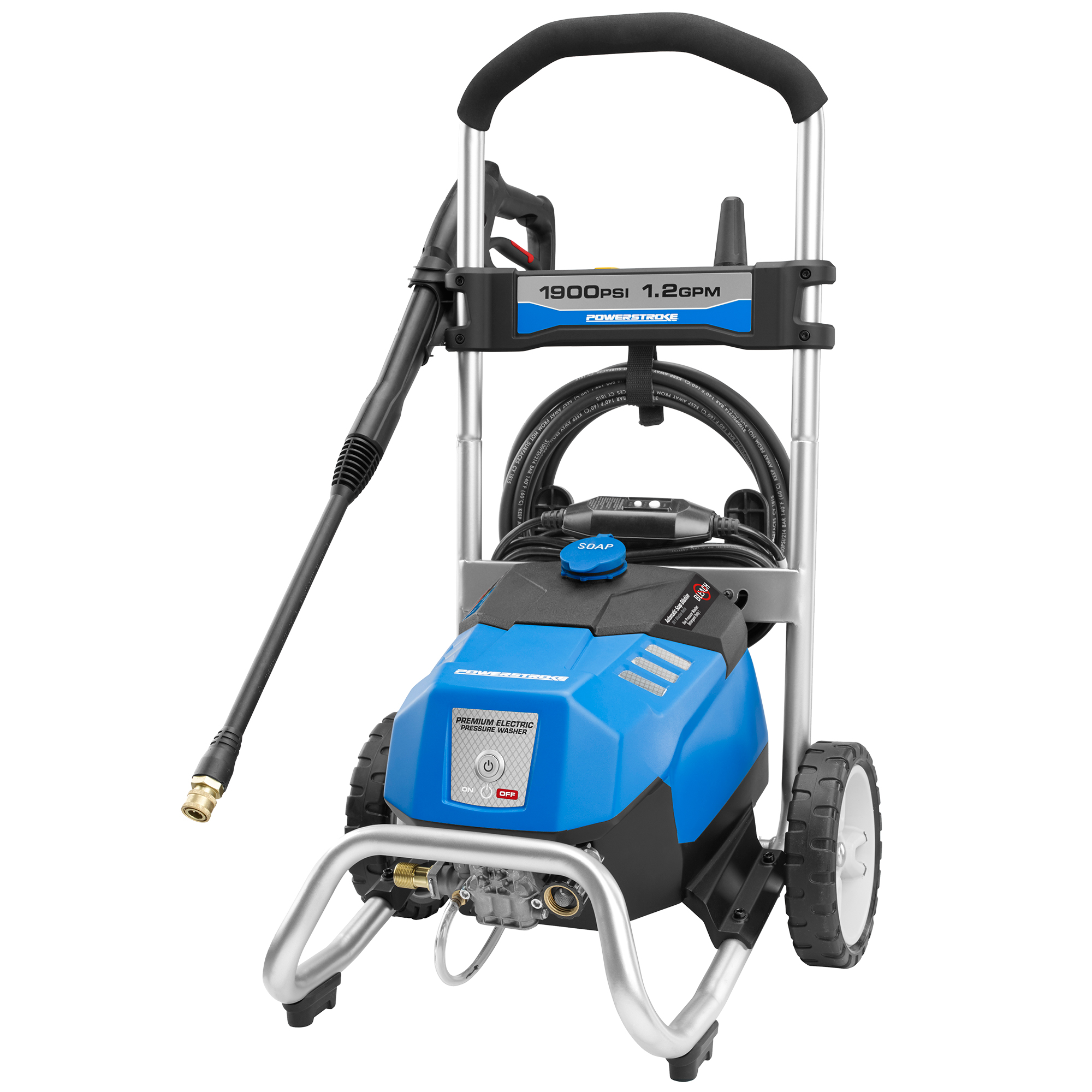 powerstroke pressure washer powerstroke 1900 psi electric pressure washer with 29056