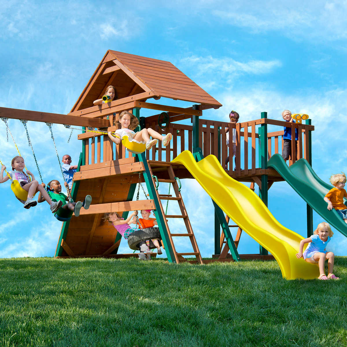 yardline play systems ultra fortress ii playset do it yourself