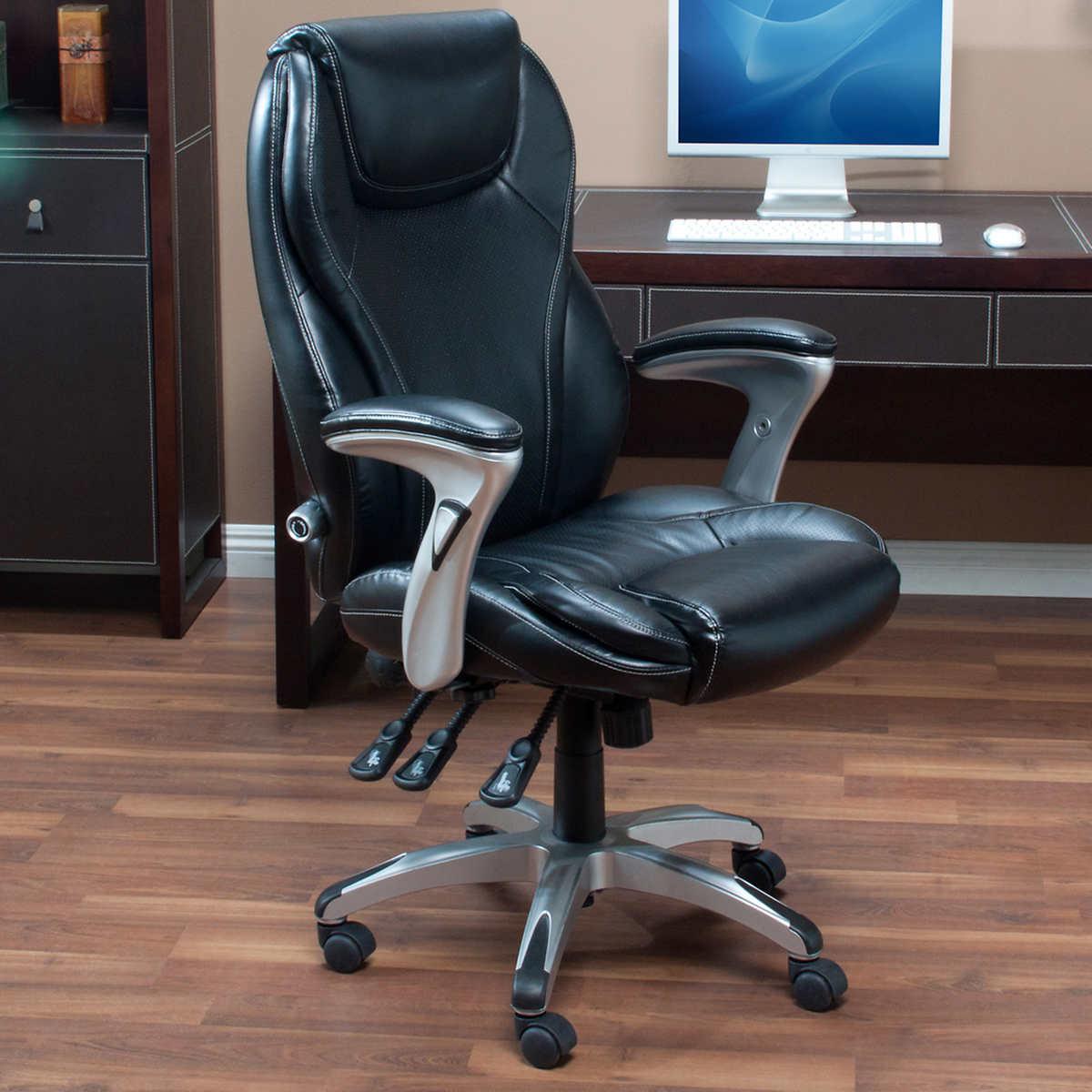 Serta Fabric Multifunction Managers Office Chair Serta Fabric