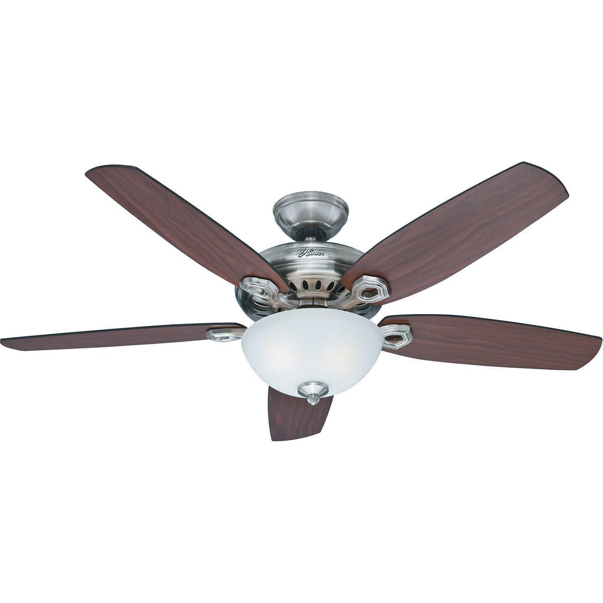 """hunter anfield 54"""" ceiling fan"""