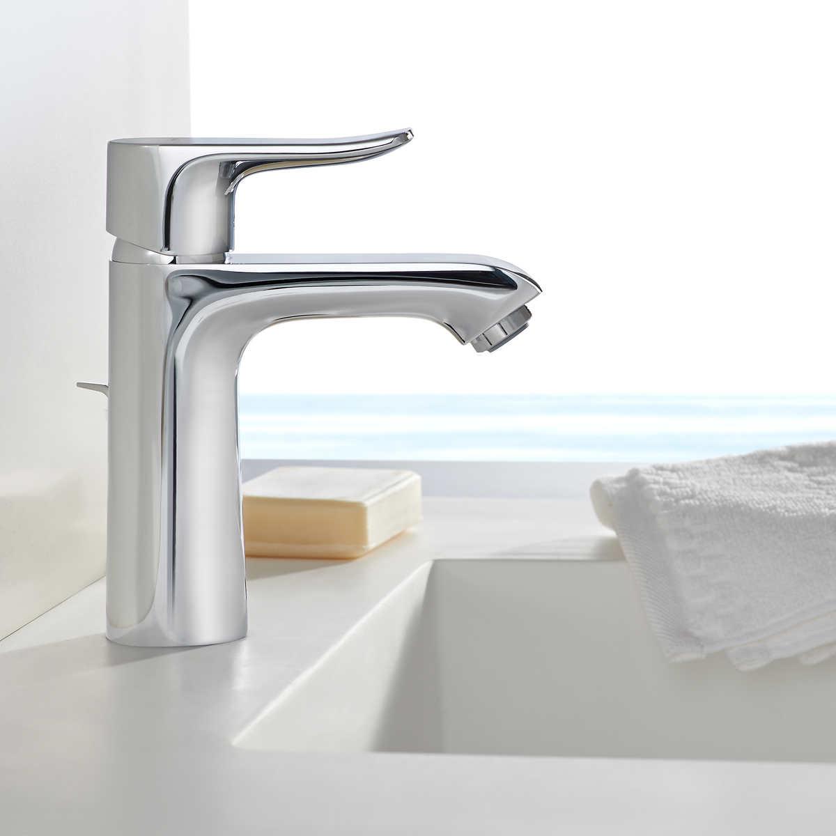 hansgrohe logis loop single hole bathroom faucet