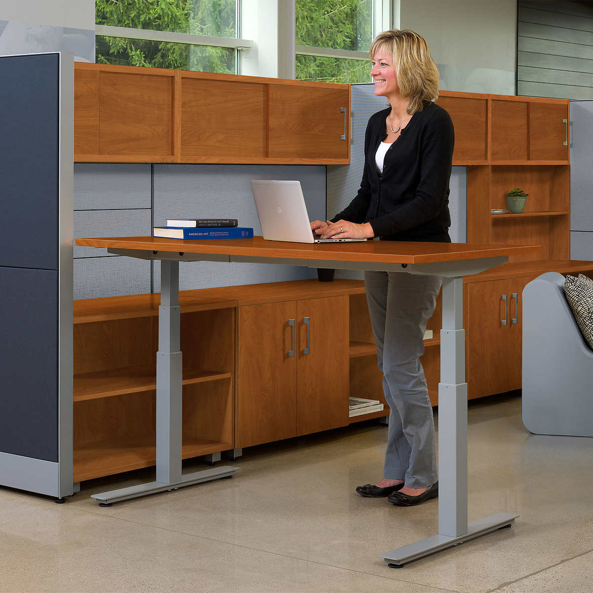height adjustable desks | costco