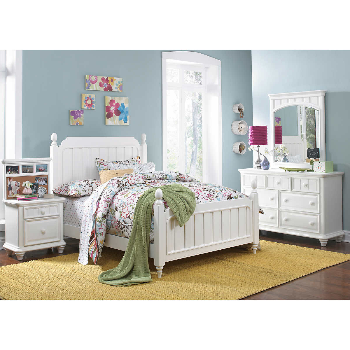 White Bedroom Sets Full full bedroom sets | costco